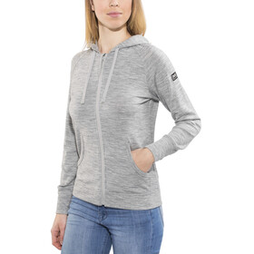 super.natural W's Essential Hoody Ash Melange